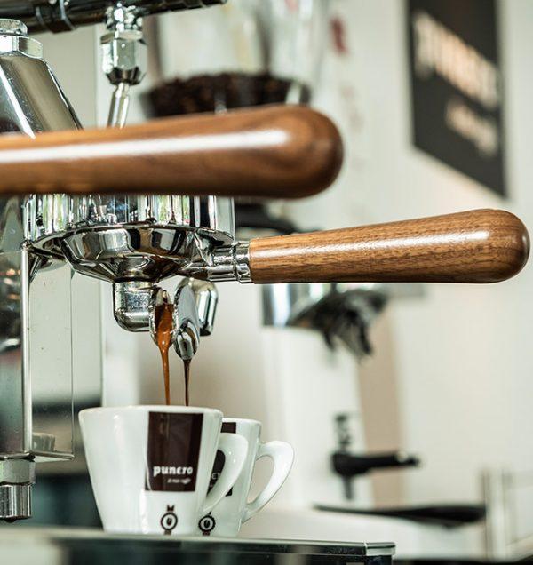 Punero Kaffee Siebtragermaschine