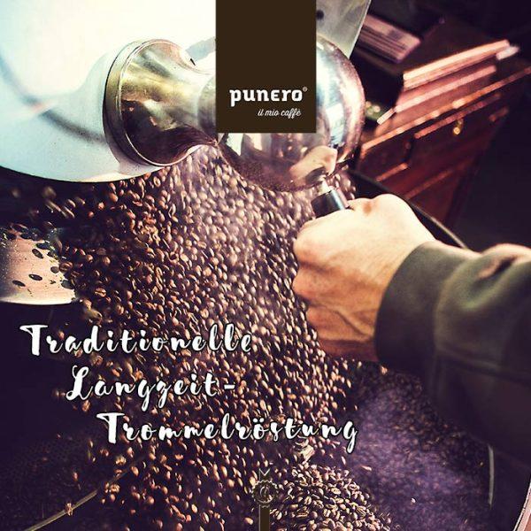 Bester italienischer Manufakturkaffee Langzeit-Trommelröstung