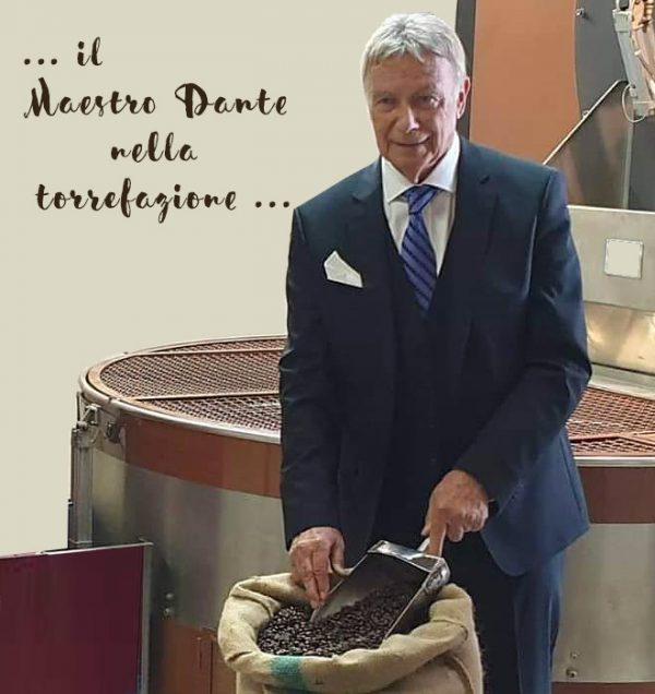 Maestro Dante beim Rösten