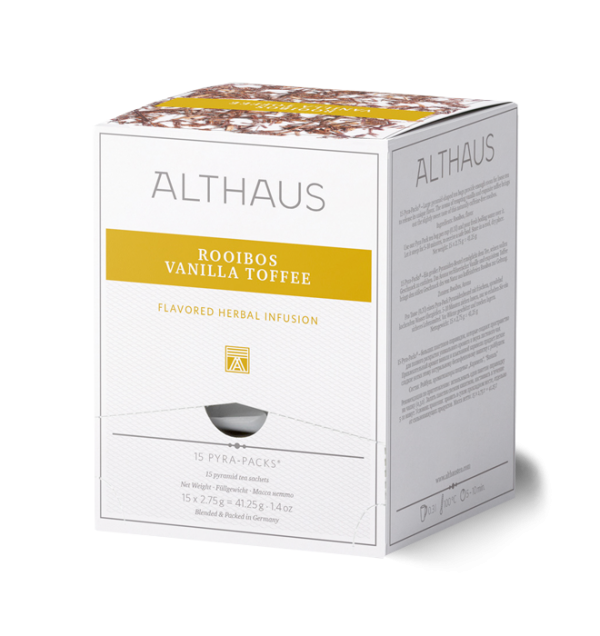Althaus Tee Rooibos Vanilla Toffee