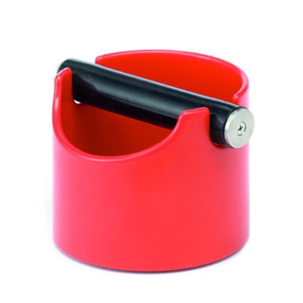 Rote Knockbox für Baristi