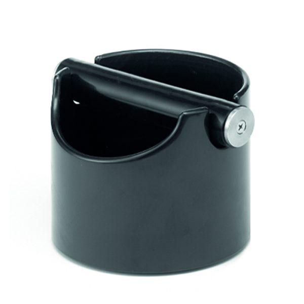 Schwarze Knockbox für Baristi