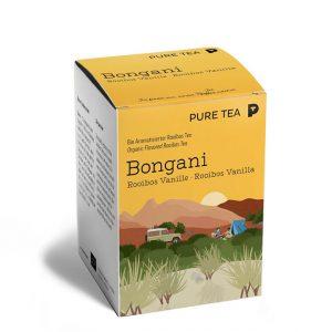 Hochwertiger Bio Bongani Rooibos Vanille Tee