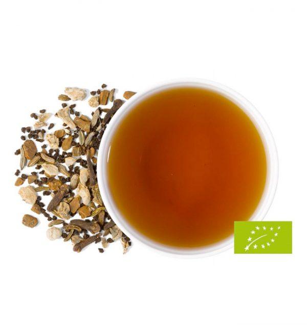 Bio Schwarzer Tee mit Gewürzen