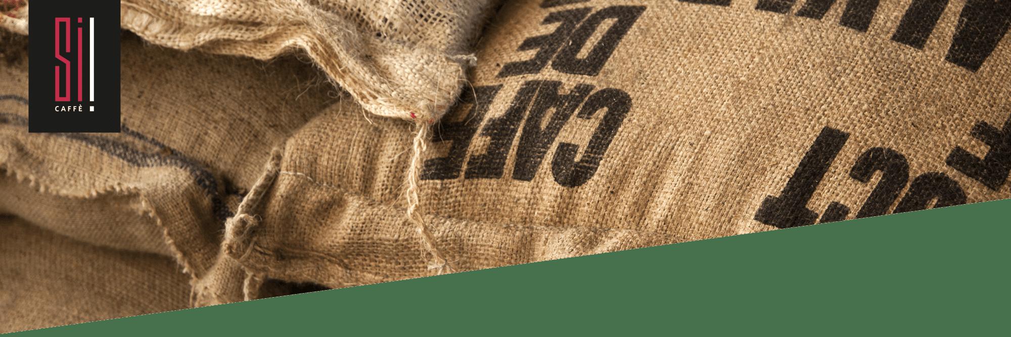 Röstkaffee Si Caffè in Säcken