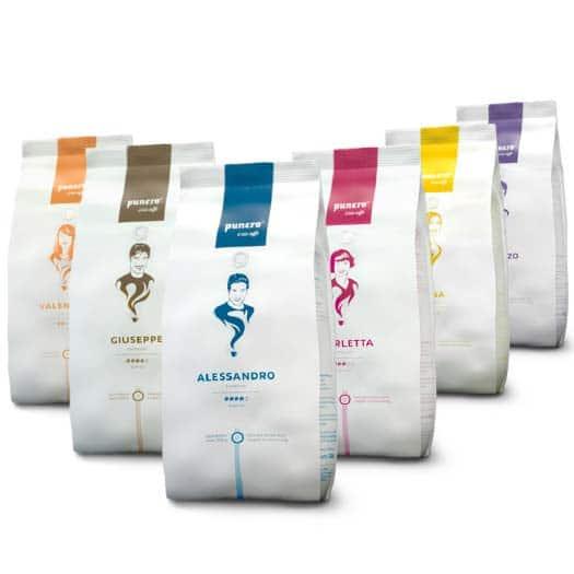 punero Caffè Verpackungen