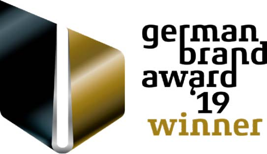 german brand award winner 2019 Logo
