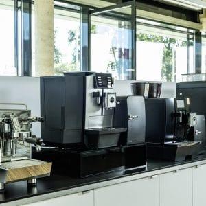 Maschinenausstellung in den Räumen der PREMO GROUP am Firmensitz Fürth