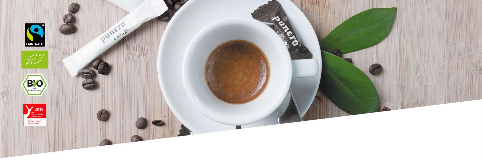 Espresso in Tasse
