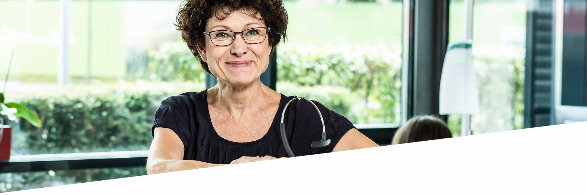 Doris Fuchs, Leitung Service Center