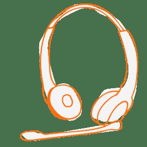illustration headset