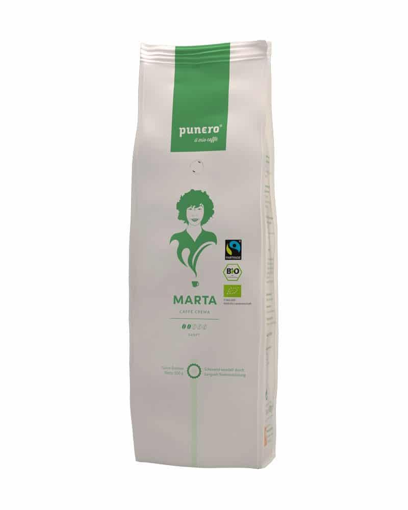 punero Kaffee-Charakter Marta