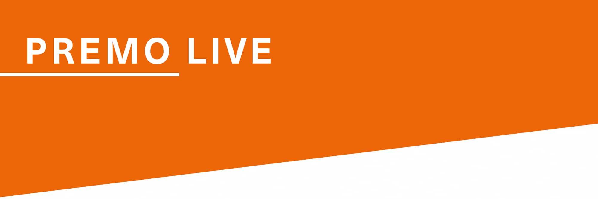 Premo Live Live-Produktberatung und Live Technik-Support