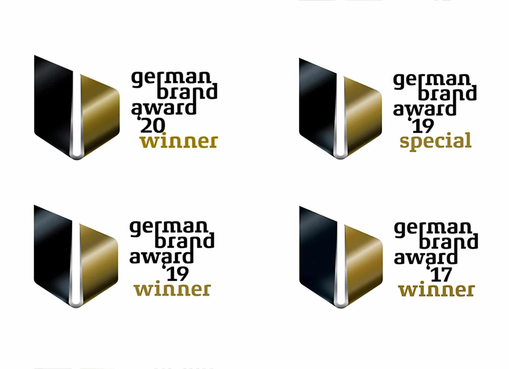 Viermaliger German Brand Award Gewinner