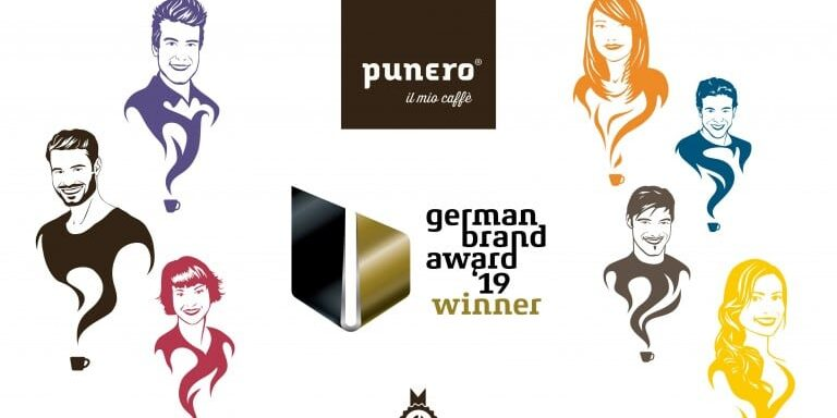 Collage punero german brand award winner 2019